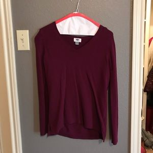 Purple Old Navy Sweater WORN ONCE